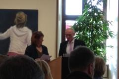 Kunstpreis Gemeinde Buttenwiesen Verleihung  durch 1. BGM Hans Kaltner